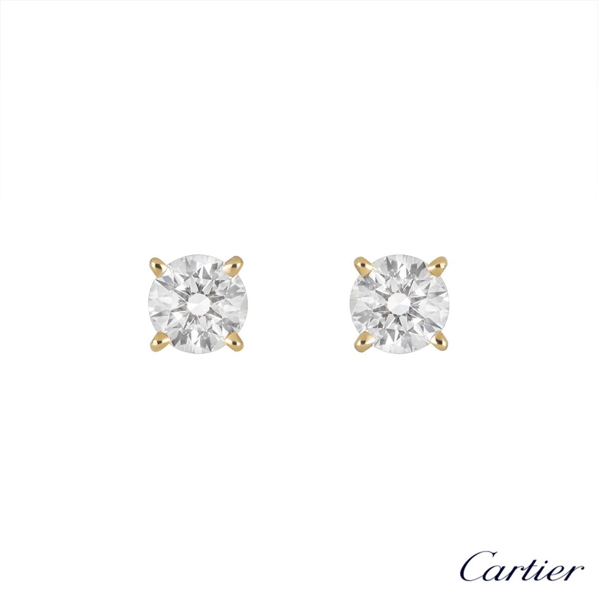 9fa8fbc41c593 Cartier Diamond Earrings